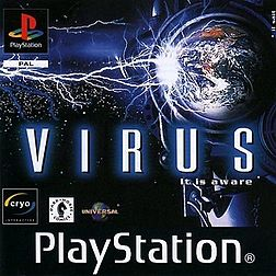 Virus_It_Is_Aware_Playstation_1999_Game_Cover